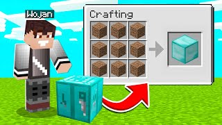 NOWY CRAFTING TABLE w MINECRAFT! *sprawdź to*