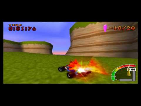 Crash Team Racing - Skull Rock ( Part 14 CTR )