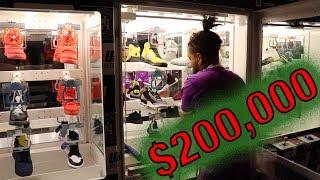 $200,000 worth of sneakers inside the Heat Lockers!!!