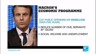 France Presidential Race: what is Emmanuel Macron economic program?