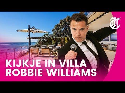 Binnenkijken: Robbie Williams koopt villa voor 18 miljoen