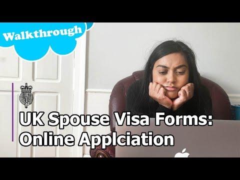 UK Spouse Visa 2018- Walkthrough: Online Application Form