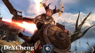 Infinity Blade Gameplay - 1st Bloodline Part 1/8 - The Cobblestone Bridge [HD]