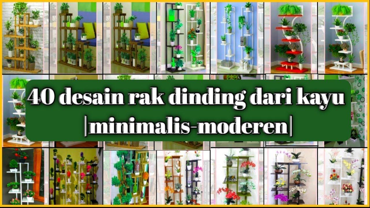 40 rak dinding dari kayu desain interior kerajinan tangan ...