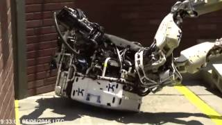 Robots Falling Down at the DARPA Robotics Challenge to Benny Hill Music