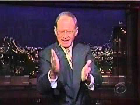 David Letterman is an Expert on Dayton, Ohio