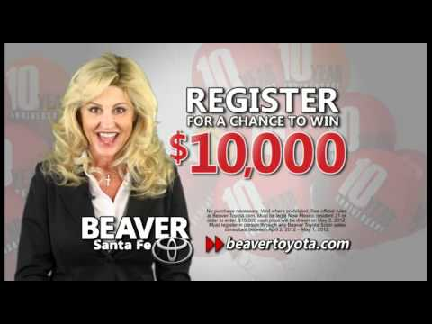 10000 Reasons To Shop Beaver Toyota In Santa Fe New Mexico For Our 10 Year  Anniversary.wmv   YouTube