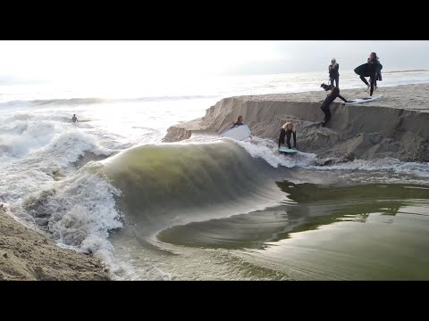RAW: How a RIVER WAVE FORMS START TO FINISH