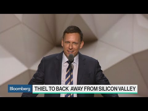 Why Peter Thiel Is Backing Away From Silicon Valley