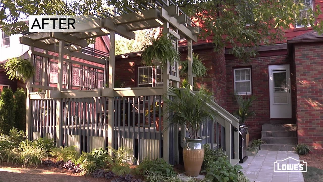 Deck Design Ideas for an Affordable Deck Makeover - YouTube