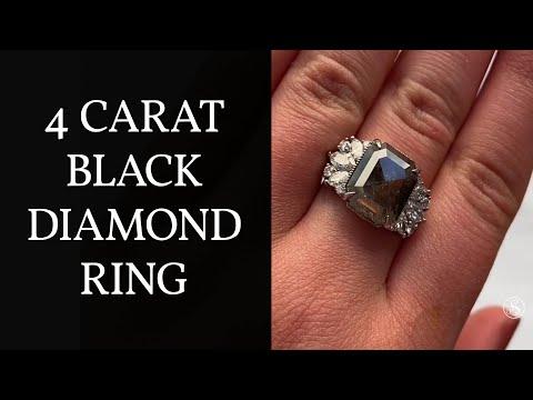 black-diamond-engagement-ring-|-4-carat-cluster-ring