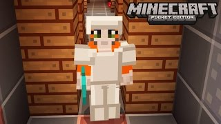 Minecraft: Pocket Edition - No Home Challenge - Don't Push Me In The Lava!