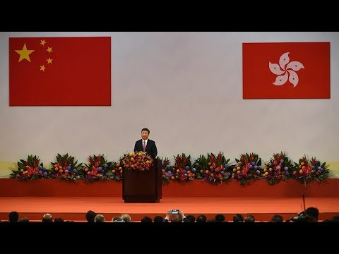 President Xi swears in Hong Kong's new government
