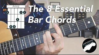 Download The 8 Essential Bar Chord Shapes  - Easy Beginner Guitar Lesson MP3 song and Music Video
