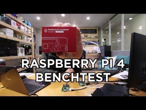 Raspberry Pi 4 benchmarks and performance analysis