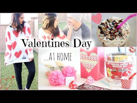 Valentines Day Ideas For Staying At Home