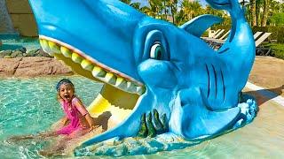 Аквапарк - Детская песня. Песни для детей от Майи и Маши