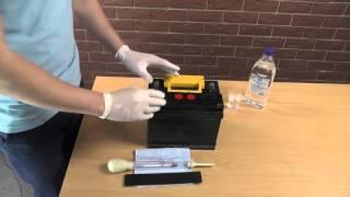 Обслуживание свинцово кислотного аккумулятора