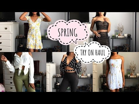 HUGE Spring 2018 Try On Haul! | FOREVER21, H&M, LOVE CULTURE