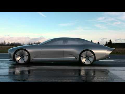 Mercedes-Benz IAA Concept - Stills At Airport Siegerland (Germany)