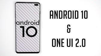 Android 10 & One UI 2.0 auf dem Samsung Galaxy S10+ - Alle Neuerungen (Deutsch) | SwagTab