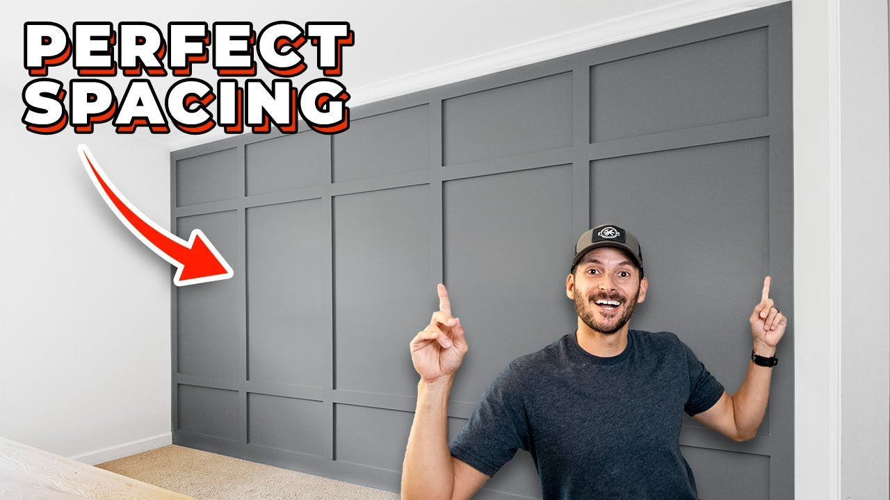 DIY Board and Batten Accent Wall | Wainscoting How to