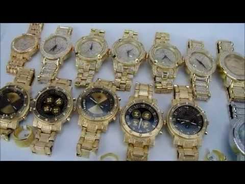 Iced Out Hip Hop Fashion Watches