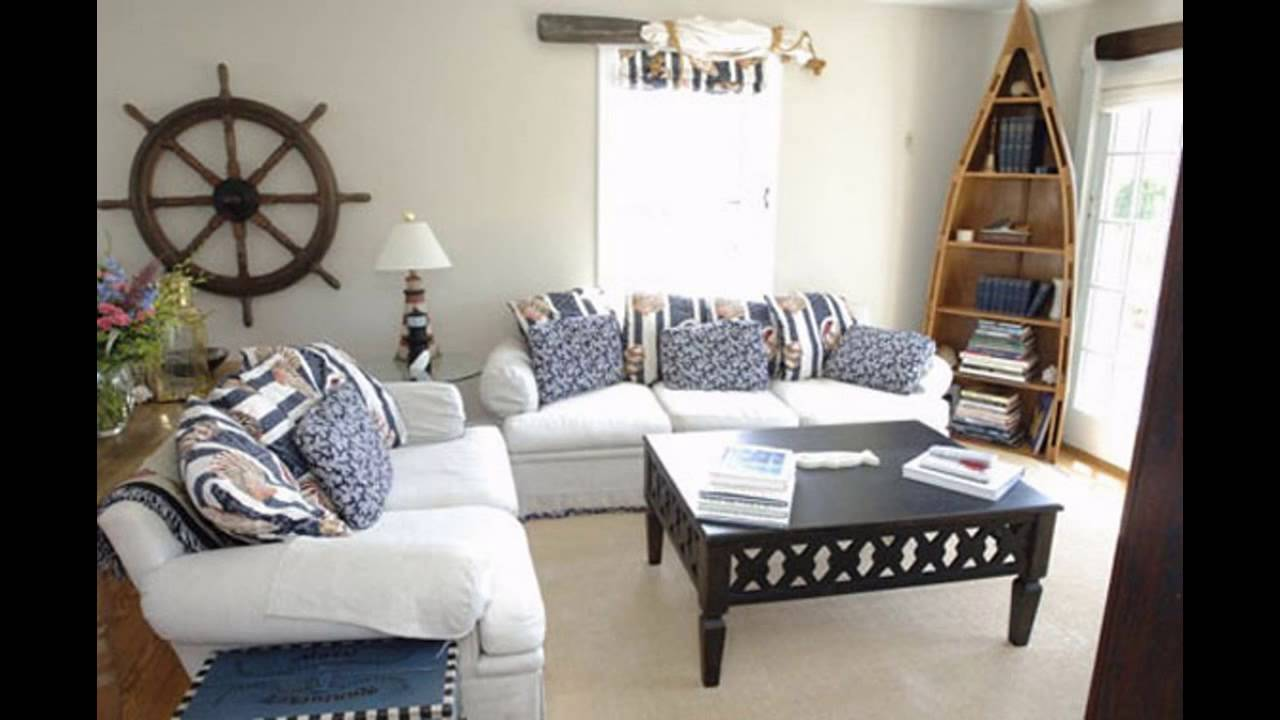 Cool Beach themed living room ideas - YouTube