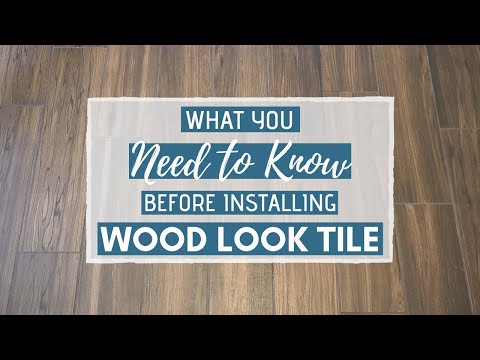 Wood Look Tile Flooring: What You NEED to Know