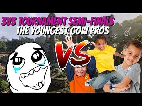 Gears of War 4: Tournament vs YOUNGEST GEARS OF WAR PRO