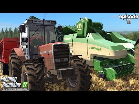 West Coast: Krone Contract!  - Farming Simulator 17 -  Ep.11 (with Wheel Cam)