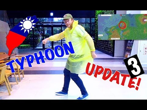 TAIWAN TYPHOON ARRIVES IN KAOHSIUNG! UPDATE 2017
