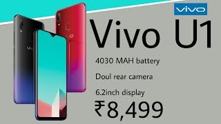 Vivo U1 launch : Price, specifications,India launch date ,Vivo U1