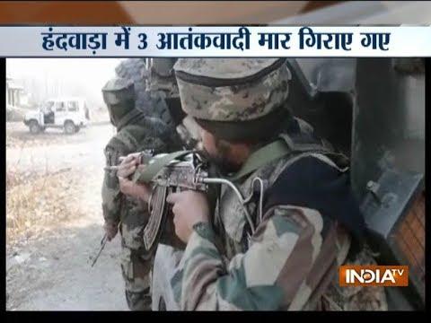 Jammu and Kashmir: Security forces gun-down 3 terrorists in Handwara