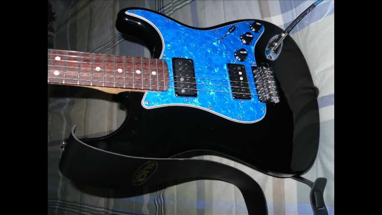 Fender Blacktop Stratocaster Hh Wiring Diagram Jaguar B Kit Mim Conversion Slide Show Mpg Youtube
