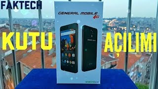 General Mobile 4G Kutu Açılımı