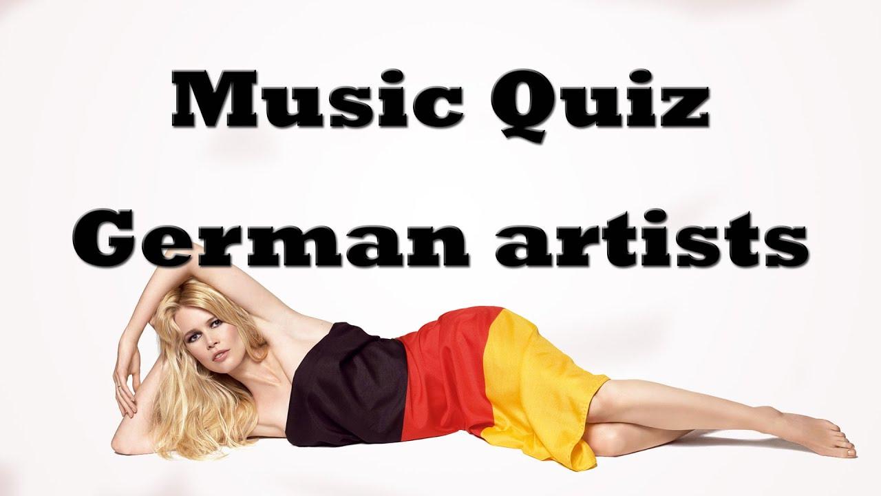 Music quiz - German artists