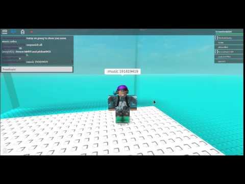 roblox admin music codes
