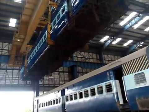 Indian railway at industry