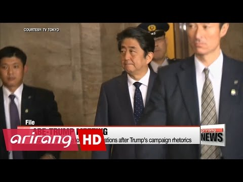 U.S. President-elect Trump and Japanese PM Abe conclude meeting in New York