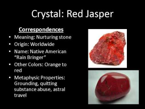 gemstone gemstones jasper senses en red heavenly