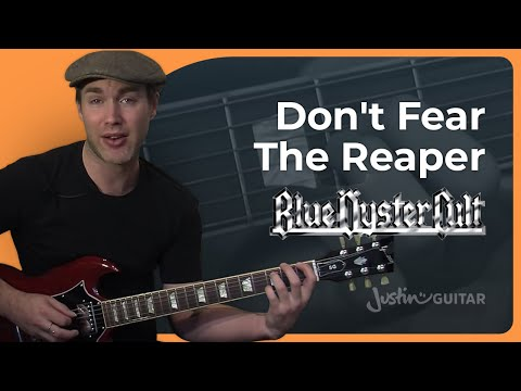 Riff #1: Don't Fear The Reaper - Blue Oyster Cult (Songs Guitar Lesson RF-001) How to play
