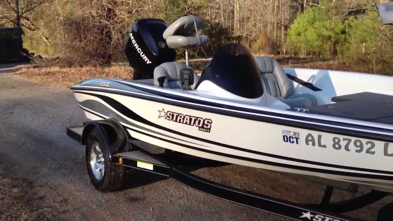 Sold For Sale 2007 Stratos 275xl Bass Boat 115 Optimax