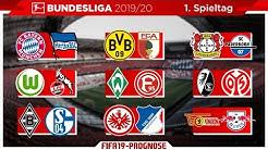 FIFA 19: Spieltag 1 (inkl. Samstagskonferenz) - Saison 19/20 l Bundesliga - Prognose l Deutsch [HD]