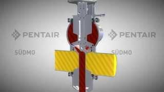 видео 19ч21бр - Клапан (затвор) обратный поворотный фланцевый