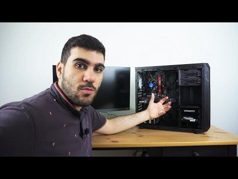 تجميعة PC للالعاب رخيصة بمعالج ضعيف و كرت شاشة قوي من موقع gear-up.me RX580