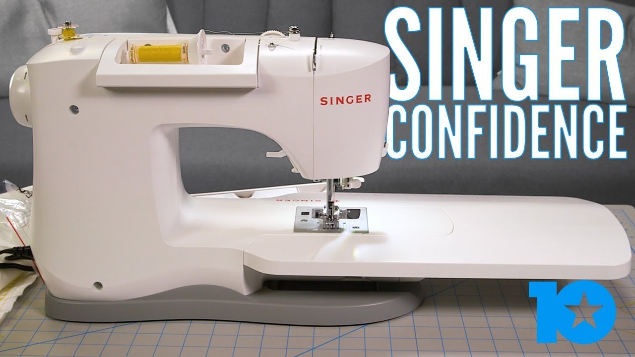 REVIEW: Singer Confidence Sewing Machine - YouTube