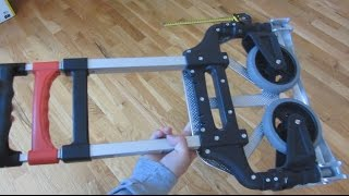 Magna Cart - Up Close Demo and Review of Folding Truck Dolly