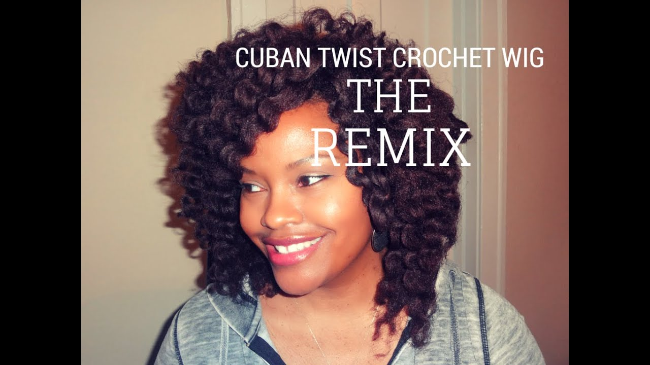 Cuban Twist Crochet Wig Natural, Transitioning, Relaxed Hair Style ...