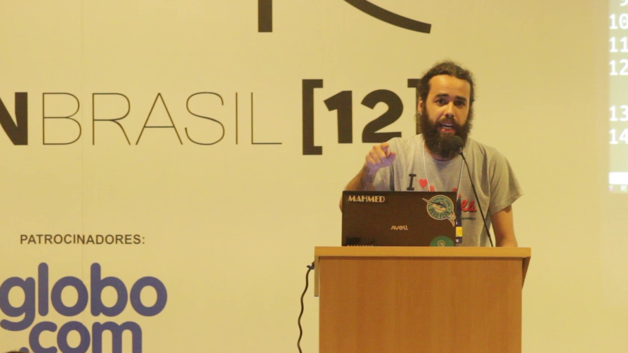 Image from lightning talk - Diego Dukão